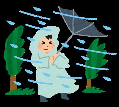 大雨洪水警報でも仕事は出勤の理由